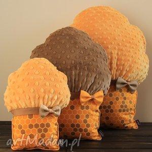 poduszki muffinki - muffinki, mufinki, poduszki, przytulanki, miodowe, honey