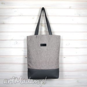 Pojemna torba zapinana, torebka, poejmna, wodoodporna, laptop, shopperka