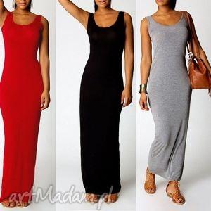 klasyczna długa sukienka boho style, boho, sukienka, długa, letnia