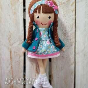 handmade lalki malowana lala lenka
