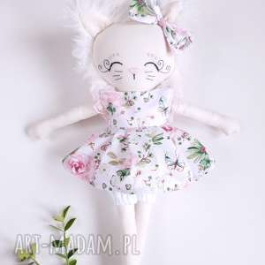 lalki lalka kotek, lalka, zestaw, eko, bawełna, przytulanka dla dziecka