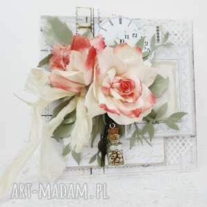 marbella różana kartka w pudełku, róże, ślub, rocznica, podziękowanie, urodziny