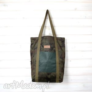Pojemna torba moro na laptopa wojskowa weekend, torba, pojemna, laptop,