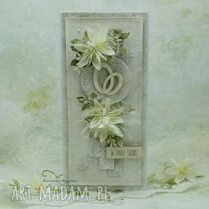kartka ślubna z obrączkami vol 2 w pudełku, ślub, ślubna, na ślub