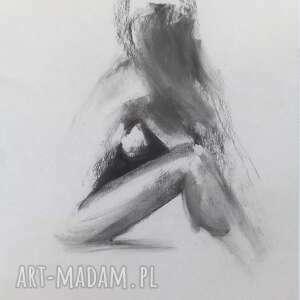 Woman 45x60 dom galeria alina louka duży obraz, grafika kobieta