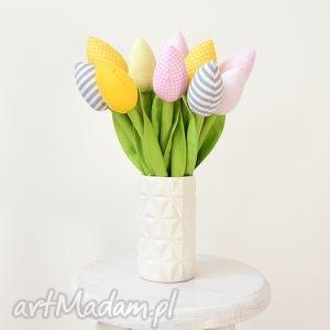 Bawełniane tulipany dom jobuko tulipan, tulipany, bawełniane