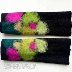 mitenki w zieleniach rękawiczki
