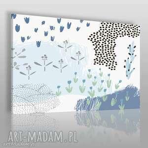 obrazy obraz na płótnie - natura rzeka 120x80 cm 62006, natura, rosliny