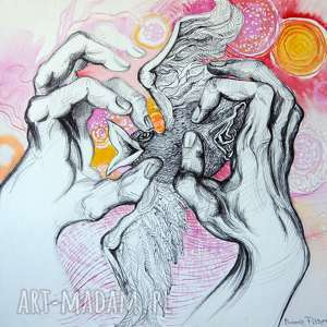 pi art złapać słońce, rysunek, szczęście, energia, oryginał, grafika