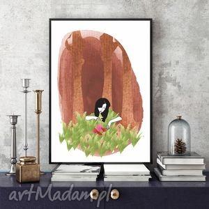 odnależć kwiat paproci - Art print