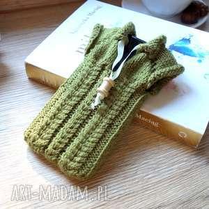 hand-made etui sweterek na smartfona