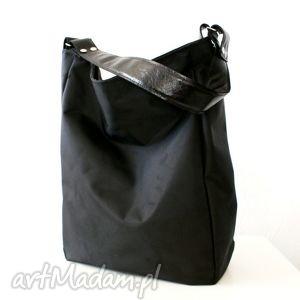 iks kordura czerń czerń, skóra, kordura, torba, worek torebki