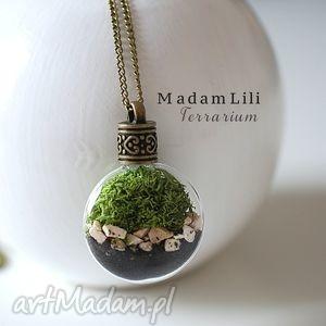 handmade naszyjniki ♥ terrarium ii ♥ naszyjnik część natury