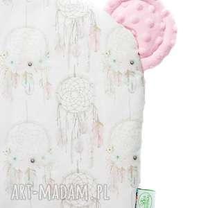 hand-made pokoik dziecka poduszeczka miś łapacze róż