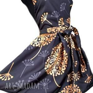 elegancki fartuch sukienkowy, kuchenny, fartuch, fartuszek