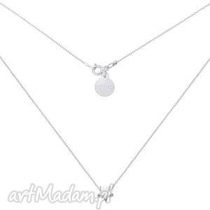 sotho srebrny naszyjnik z delikatną gwiazdką - łańcuszek