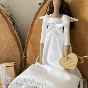 anioł pamiątka pierwszej komunii świętej, na chrzest