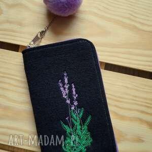etui filcowe na telefon - lawenda, smartfon, pokrowiec, futerał, lavenda