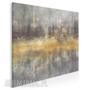 obraz na płótnie - abstrakcja sztuka artystyczny w kwadracie 80x80 cm 95602