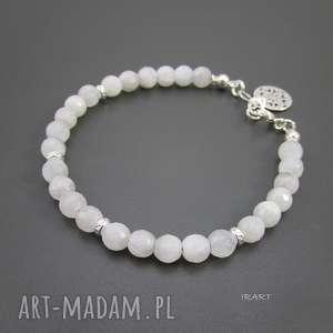 do dżinsów - kamień księżycowy, srebro, ksieżycowy biżuteria
