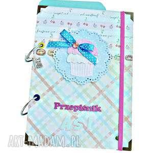przepiśnik babeczka - personalizacja, przepisy, przepiśnik, prezent
