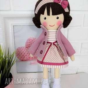 malowana lala szarlota, lalka, zabawka, przytulanka, prezent, niespodzianka, dziecko