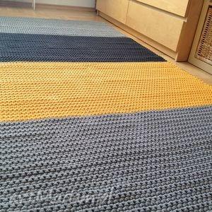 dywan słoneczny - dywan, chodnik, minimalizm, skandynawski