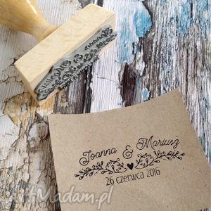 stemple stempel exlibris 25x60mm pnącza, stempel, exlibris, zaproszenia, ślub ślub