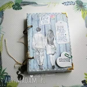 Notatnik/sekretnik/ Just be my friend , notes, zapiski, zeszyt, rowerek