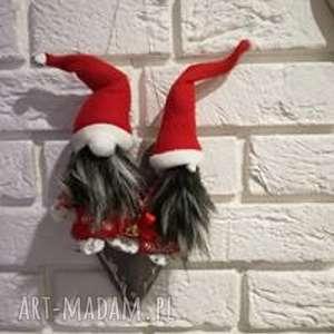 świąteczny prezent, mikołajkowe magnesy, mikołajek, magnes