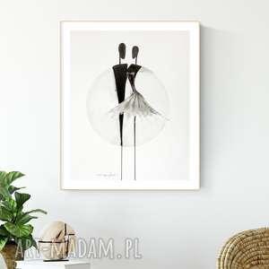 ART Krystyna Siwek grafika 40 x 50 cm wykonana ręcznie