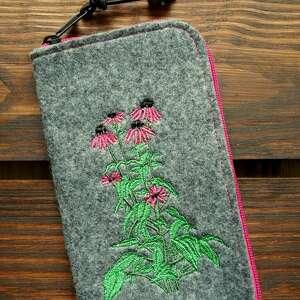 Filcowe etui na telefon - jeżówka happyart smartfon, pokrowiec