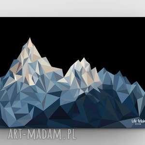 pod choinkę prezent, plakaty góry black, grafika, góry, plakat
