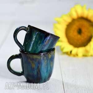 para małych kubków ceramicznych black smaragd ok 200 ml, ceramika