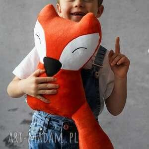 maskotki przytulanka dziecięca lisek mały, poduszka lisek