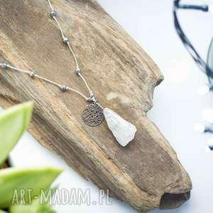 ręcznie wykonane wisiorki whw raw crystal #1