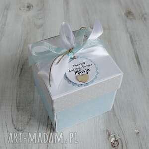 po-godzinach pudełko kartka pierwsza komunia święta - prezent