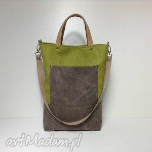na ramię torba ramię, do ręki, torba, torebka, sak, praca, szkoła