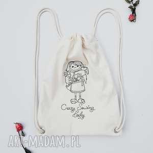 ręcznie wykonane plecaki crazy sewing lady