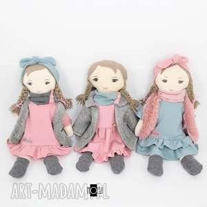 lalki pastelowa przytulanka, lalka, szmacianka