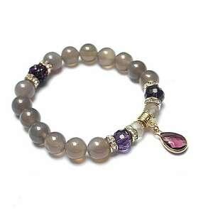 accent point - violet /23 11 2020/, kamienie, minerały, ki ka, agaty