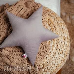 pokoik dziecka poduszka gwiazdka - liliowa, na prezent, pokoj dziecka, podusza