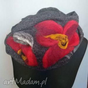 handmade chustki i apaszki komin ficlowany, zdejmij szpile załóż glany