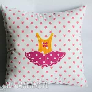 Poduszka - Słodka baletnica, poduszka, dziewczynka, dekoracja, taniec