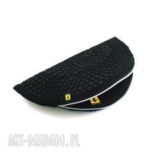 handmade torebka kopertówka czarny pierożek:)
