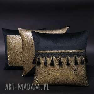 poduszki dekoracyjne komplet 3 secessio 45x45cm, poduszek, zestaw