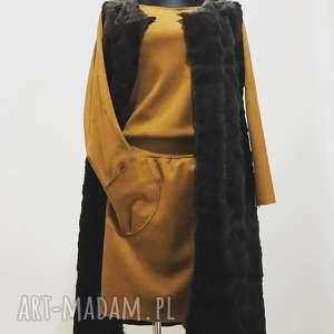 handmade kamizelki futrzana kamizela