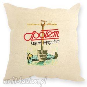 poduszka dekoracyjna - społem, poduszka