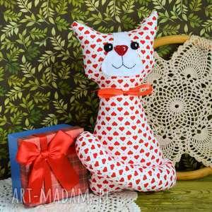 hand made maskotki kotek torebkowy - roma 25