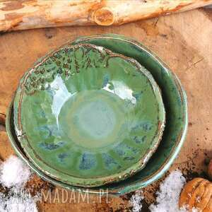 ceramiczne miseczki kamionkowe (c139) - moska, kamionka, miski, ceramika, kamionkowa